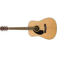 Guitarra Clasica Fender Cd-60s Zurda Natural - Soundgroup