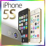 Iphone 5s 16gb Libre Dorado * Impecable Estetica 9.5 De 10