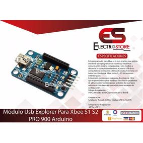 Módulo Usb Explorer + Cable Usb Para Xbee S1 S2 Pro