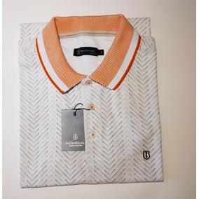 Camisa Polo Individual Branca - Calçados 22ed579df6322
