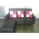 Mueble Tipo L De Semi-cuero