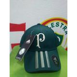 Boné adidas Palmeiras Sep 3s Cap Aba Curva Original!!!