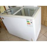 Congeladora Dual Maigas Tapas De Vidro Mod Sd-255 205 Lts