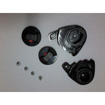 Reparo / Kit Fixação Viseira P/ Capacete Helt Advance Bilhar