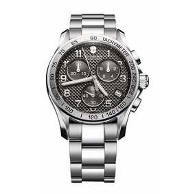 Reloj Swiss Army Victorinox 241405 Cronógrafo Clásico Nuevo