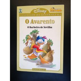 Hq Clássicos Da Literatura Disney 27 - O Avarento
