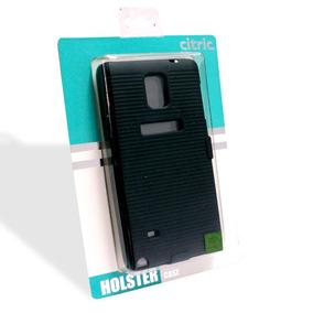 Funda Holster Cubierta Soft Lg C205 Morado