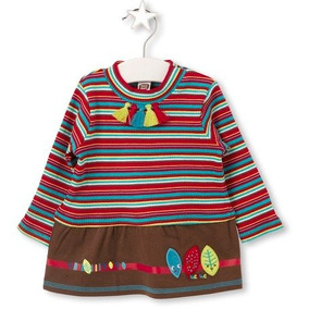 Vestido Marca Española Tuc Tuc 1 A 6 Años Invierno Pacham
