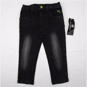 Pantalon Negro Stretch P/niña T 18m Roca Wear Envío Gratis