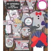 Kit Imprimible Baby Shower Mesa De Dulces Postres Etiquetas
