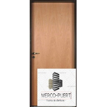 Puerta Placa Cedro 80x10 M/madera Somos Fabrica