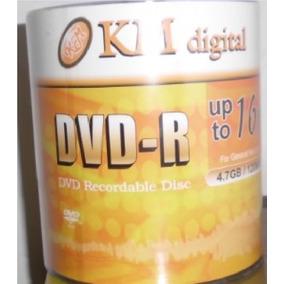 Dvd-r Km Digital 4.7gb 120min 16x Printeable. La Docena