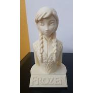Escultura 3d Anna Frozen 15 Cms.