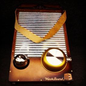 Tabua De Lavar Instrumento De Percussão