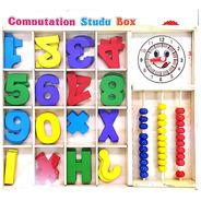 Computation Study Box Juego De Madera Para Matematicas