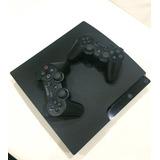 Playstation 3 Slim 160gb (3 Controles +3 Juegos) Remate!!!!!
