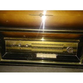 Consola Con Tocadiscos Y Radio Am Fm Marca Telefunken