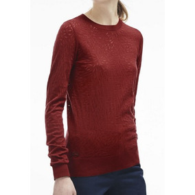 Sweater, Cardigan, Lacoste Mujer, Estampado Af9276