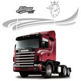 Jogo De Faixas Decorativas E Adesivos Scania Silverline 2006