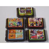 Multijuegos 4 En 1 Para Sega Mega Drive Varios Estilos