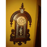 Relógio Ansonia Habana Silver Wall Clock - New York/1894