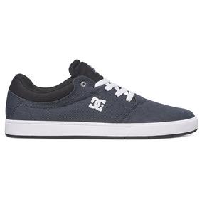 Tenis Hombre Crisis Tx Adys100130 Bkz Dc Shoes Gris