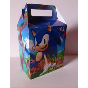 Bolsitas Golosineras-cajitas Sonic