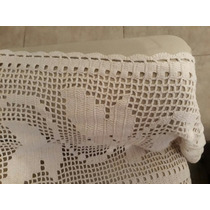 Cubrecama Crochet