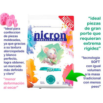 Porcelana Fria Nicron Soft 3,25 Kg 10 Paq X 325gr San Martin