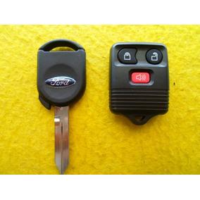 Llave Con Chip Y Control Remoto Ford Mercury Mazda