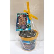 Mini Kit Eco Personalizado-vaso Amarelo - Girassol Combo 15