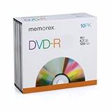 Dvd-r Memorex En Sobre 120min 4.7gb 16x Grabable