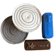 Kit Polimento Rodas Panos E Pastas Pequenos Riscos E Brilho