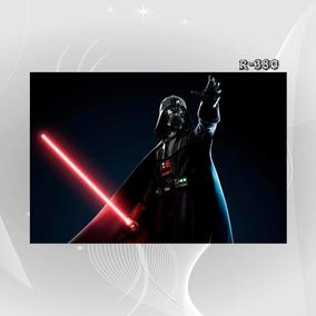Poster Filme Cinema Star Wars M7o Darth Vader Decoracao Casa
