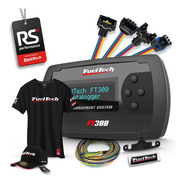 Fueltech Ft300 3m + Kit 9 Chicotes Vw 4 Bicos + Brindes