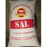 Sal De Mar En Grano Comestible, Costal De 10kg Deliciosa Pm