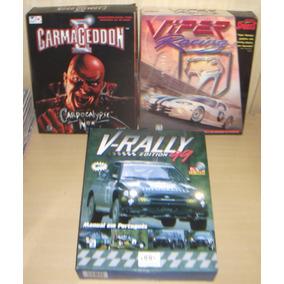 Carmageddon 2 + Viper Racing + V-rally Edition 99