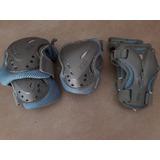 Proteccion Rollers Fila Pack X 3 Rodillera Codera Muñequera