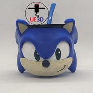 Mate Sonic Impreso En 3d