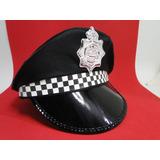 Quepe Policial Bone Tribico Distintivo Militar Civil Guarda