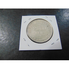 Brasil - 2000 Réis - Prata - Ano 1907 - 1,00 Inicial