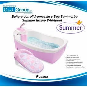 Bañera Con Hidromasaje Y Spa Summer Luxury Whirlpool Rosada