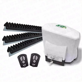 Motor Porton Corredizo Automatico Kit Completo Seg Abs 400kg