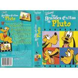 Los Grandes Exitos De Pluto Vhs Walt Disney Castellano