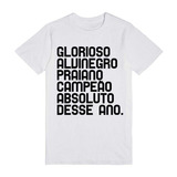 Camisa Do Santos Glorioso Alvinegro - Camiseta Do Santos 9b8c3f5afea98