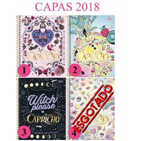 Caderno Capricho 1 Materias 96 F 1x1 2018 Tilibra