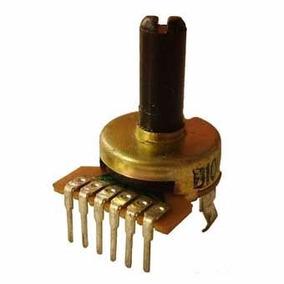 Potenciómetro Jumbo Stereo 10k Lineal A 90°