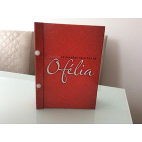 Livro De Receita Ofélia - 10 Fascículos Em Capa Dura