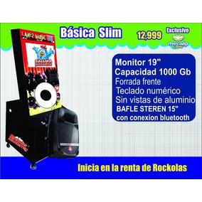 Rockolas Monterrey Linea Economica Tipo Ipod Desmontable