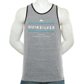 Musculosa Reverso Surfo Grey Quiksilver Fluid Tienda Oficial